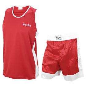 Форма боксёрская BoyBo 2XS, цвет красный