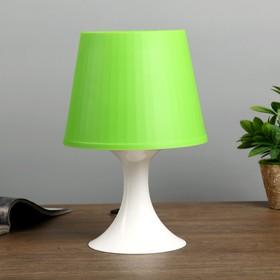 Настольная лампа 1340003 1хE14 15W зеленый d=19,5 высота 28см