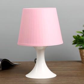 Настольная лампа 1340008 1хE14 15W розовый d=19,5 высота 28см