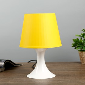Настольная лампа 1340009 1хE14 15W желтый d=19,5 высота 28см