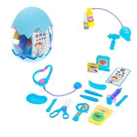 Игровой набор доктора «Не болеть!», в яйце, МИКС
