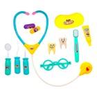 Игровой набор доктора «Лечим зубки», в чемодане - фото 105582316