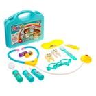 Игровой набор доктора «Лечим зубки», в чемодане - фото 105582317