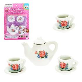 Set ceramic dishes Tea party