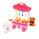 Игровой набор кухня «Маленький шеф», с аксессуарами, со звуковыми и световыми эффектами - фото 105580016