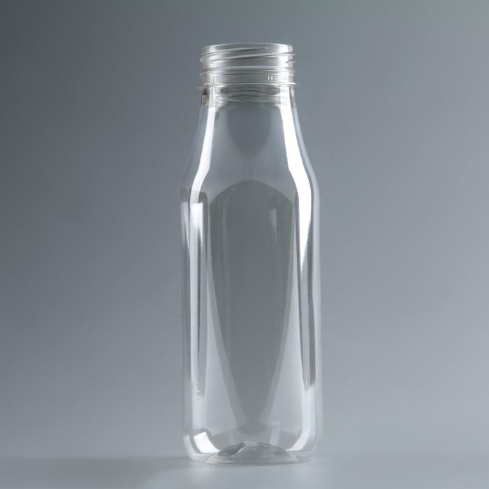 "Бутылка молочная 0,3 л ""Универсал"", прозрачная, с широким горлышком 0,38 мм"