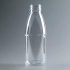 Бутылка молочная «Универсал», 0,5 л, с широким горлышком 0,38 мм, 100 шт/уп, цвет прозрачный