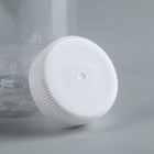 Cover for milk bottles 38 mm: 0.3 l ;0.5 l;1 l, white