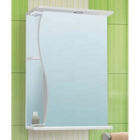 "Шкаф-Зеркало ""Волна 550 "" левый, без подсветки арт.11148"