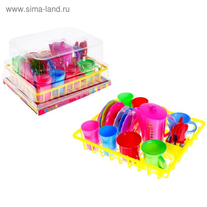 """Набор посуды """"Маленький повар"""", 27 предметов, МИКС"""