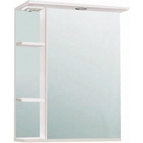"Шкаф-Зеркало ""Нарцисс 500"" Правый, белый, без подсветки арт.9923"