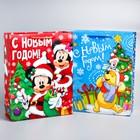 Пакет подарочный ламинированный «С Новым Годом!», 31 х 40 х 11 см, МИКС