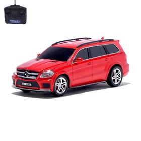 Машина радиоуправляемая Mercedes-Benz GL550, масштаб 1:24, работает от батареек, цвет красный