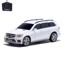 Машина радиоуправляемая Mercedes-Benz GL550, масштаб 1:24, работает от батареек, цвет белый