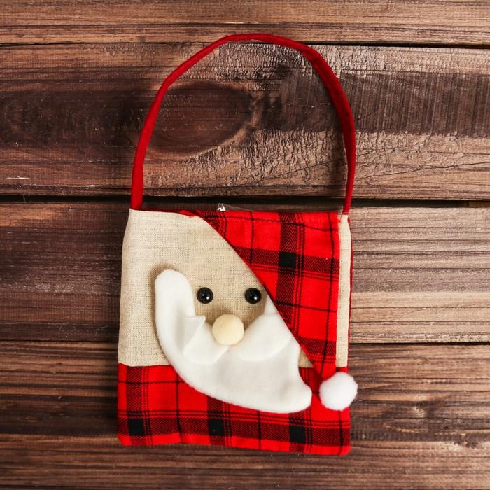Сумочка для подарков «Новогодняя», виды МИКС