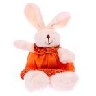 """Soft toy """"Rabbit"""" blue suit, types MIX M7064GH"""