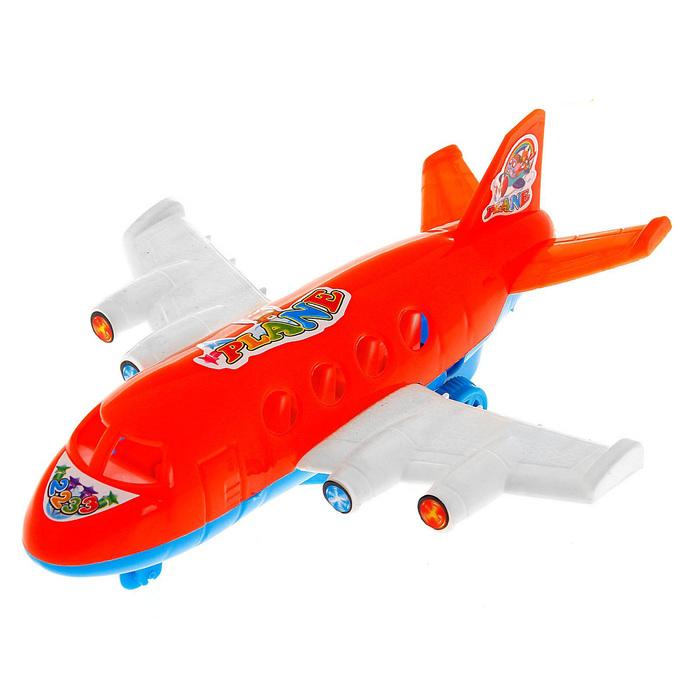 Самолёт инерционный, цвета МИКС