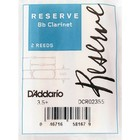 Трости DCR02355 Reserve для кларнета Bb, размер 3.5+, 2шт.