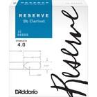 Трости DCR02405 Reserve для кларнета Bb, размер 4.0+, 2шт.