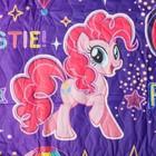 Покрывало стеганое Непоседа НЕОН My Little Pony Дружба 145х200см поплин 105 гм хл100% - фото 105560560