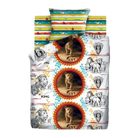 Детское постельное бельё 1,5 «Король Лев» Симба, 143х215, 150х214, 70х70см