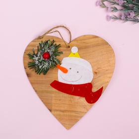 Новогодняя подвеска «Хвойный снеговик» в Донецке