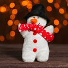 "Soft toy-suspension ""Snowman"" color MIX"
