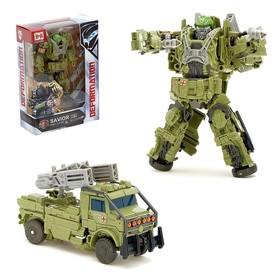 "Robot transformer ""Military"""