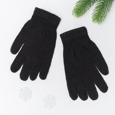 Gloves single layer mens Collorista, size 26, color black