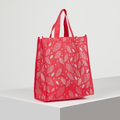 Bag the Leaves, 25*13*28 Department without zipper, red