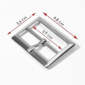 Buckle belt for 4.8*3.6 cm 25mm w2100 silver AU