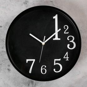 """Часы настенные, серия: Классика, """"Лоранс"""", d=35 см, черные"""