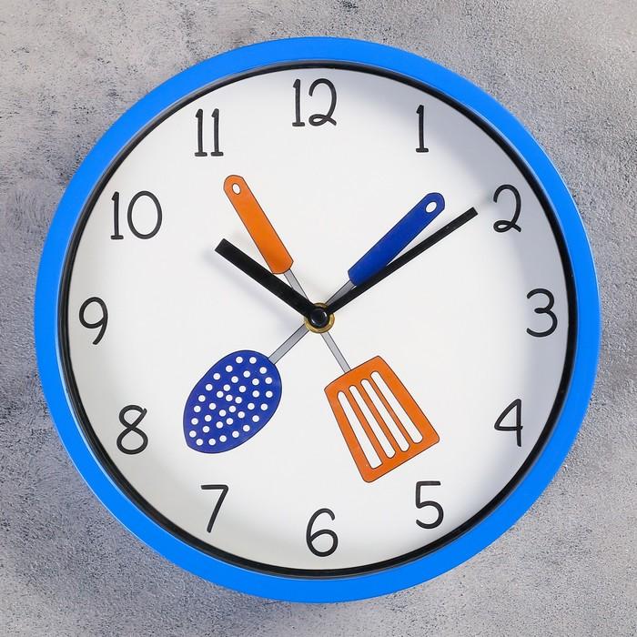"Часы настенные, серия: Кухня, ""Амадора"", d=25 см, микс"