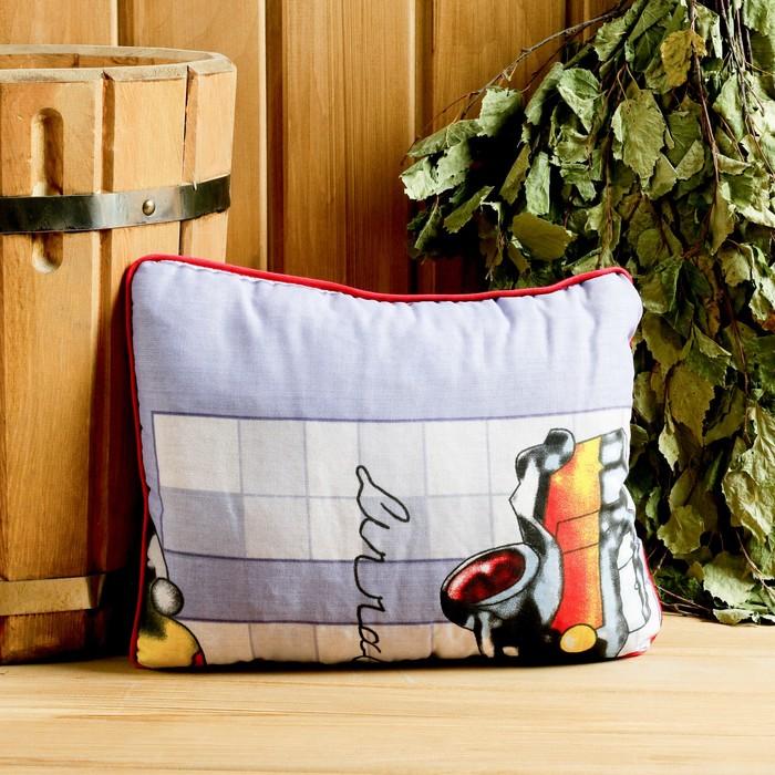 Подушка из стружки можжевельника, 29×24 см