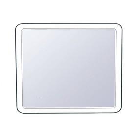 """Зеркало """"Атлантика 100*80"""" с подсветкой и часами"""