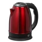 Чайник электрический Irit IR-1343, 1500 Вт, 2 л, металл, красный