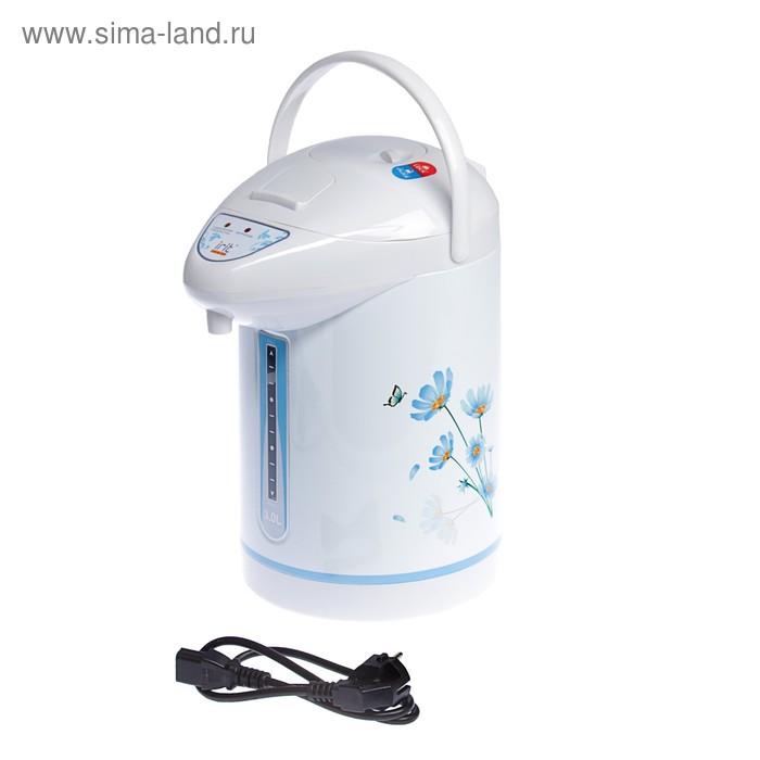 Термопот электрический Irit IR-1403, 750 Вт, 3,0 л, цветы