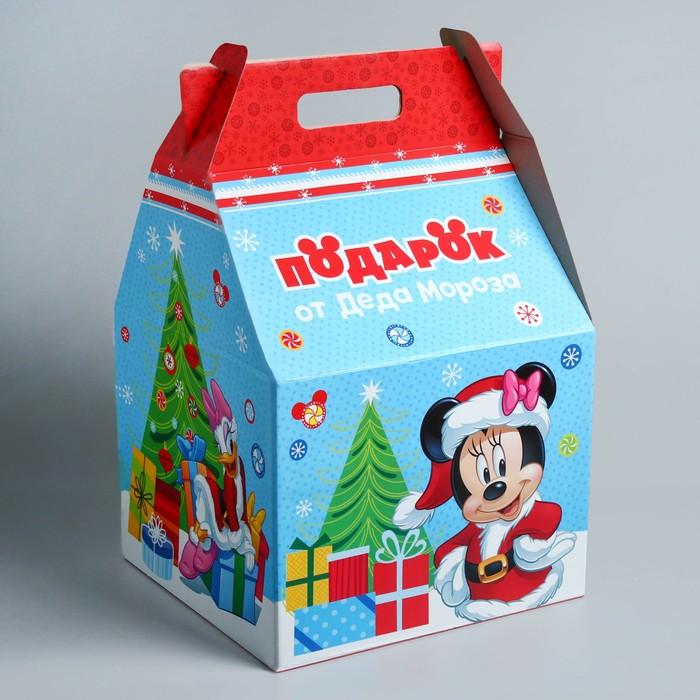 Подарочная коробка гигант «С Новым Годом!», Микки Маус, 30 х 50 х 32 см