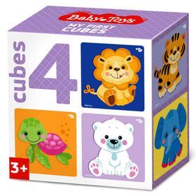 Кубики «Звери», набор 4 шт