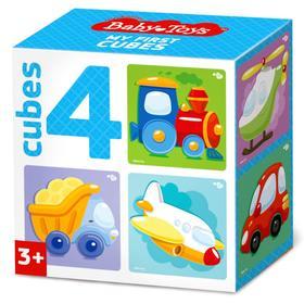 Кубики «Транспорт», набор 4 шт.