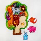 """Головоломка """"Лесные животные"""", размер 28*20 см, головоломка логическая - фото 1027727"""