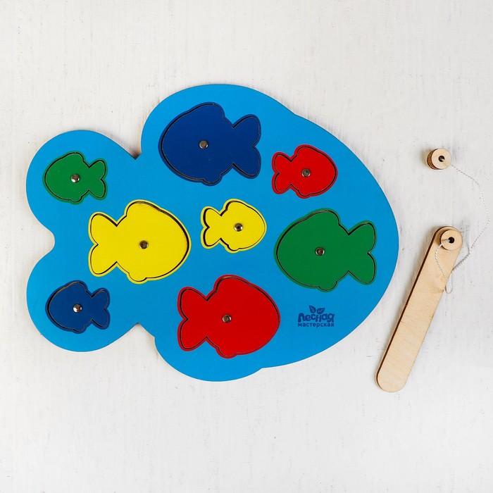 """Магнитная рыбалка """"Рыбки"""", головоломка"""