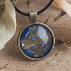 """Амулет """"Кельтский крест"""" (бронзовая коллекция)"""