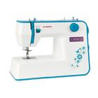 Швейная машина Aurora Style 70, 70 Вт, 23 операции, автомат, бело-голубая