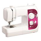Швейная машина Brother LS 3125s, 50 Вт, 17 операций, полуавтомат, бело-розовая