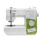 Швейная машина Brother Style 25, 50 Вт, 25 операций, полуавтомат, бело-зелёная