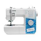 Швейная машина Brother Style 30s, 50 Вт, 27 операций, автомат, бело-голубая