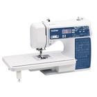 Швейная машина Brother Style 100Q, 60 Вт, 100 операций, автомат, дисплей, бело-синяя
