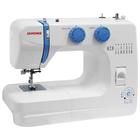 Швейная машина Janome Top 12, 60 Вт, 14 операций, полуавтомат, бело-голубая