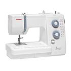 Швейная машина Janome Sewist 521, 75 Вт, 18 операций, полуавтомат, бело-голубая